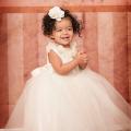 愛らしい喜び フラワーガールドレス「Charming Delight Flower Baby Girl Dress」0歳から8歳