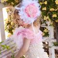 かわいい喜びのフリルフェザーレースドレス「Cute Delight Ruffle Feather Lace Dress」0歳から5歳