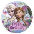 アナと雪の女王☆バルーン☆ バースデープレゼント・パーティー・記念撮影にも最適♪ディズニーフローズンハッピーバースデー【15L】