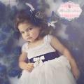 とてもかわいらしいフラワーガールドレス「So Sweet Flower Girl Dress」1歳から5歳