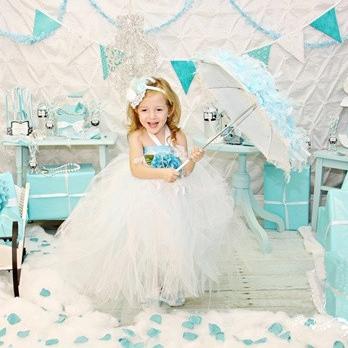 ティファニー チュチュドレス「Tiffany Tutu Dress」0歳から6歳
