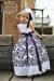 レースタッチのダマスクドレス「Damask Girls Dress with a Touch of Lace」2歳から12歳