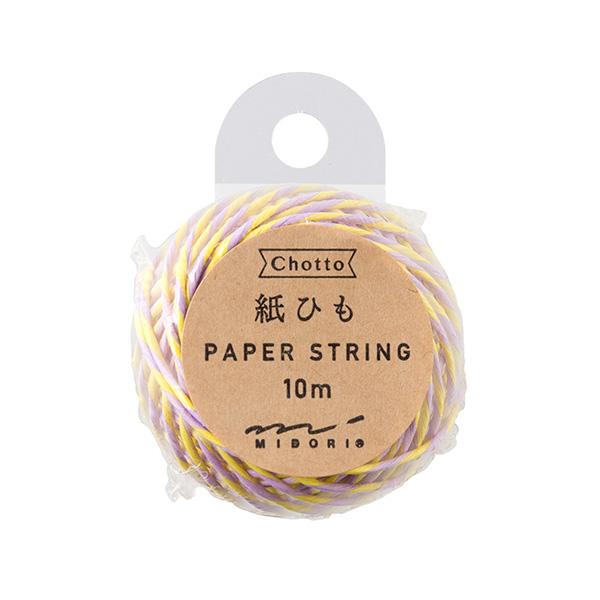 紙ひも 黄色・紫 (79406006)