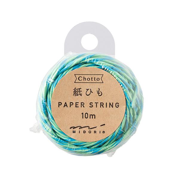 紙ひも 緑・水色 (79407006)