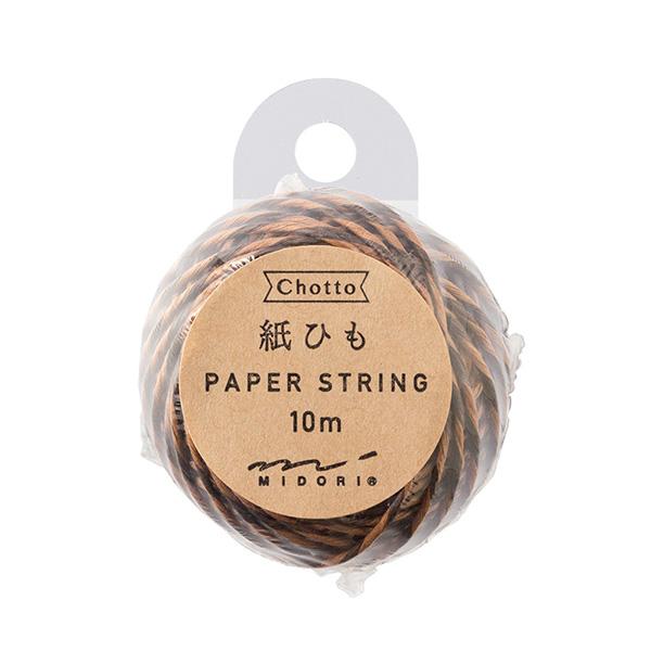 紙ひも 茶・こげ茶 (79409006)