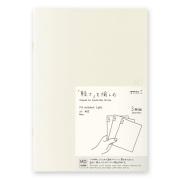 MDノート ライト<A5> 無罫 3冊組(15212006)