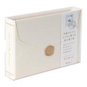 寄せ書き帳 手紙 白(33220006)