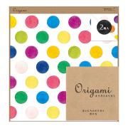 【Origami】オリガミ<15角> 水彩 ドット柄