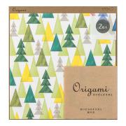 オリガミ<15角> 水彩 森柄