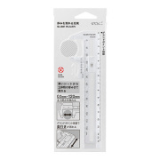 厚みを測れる定規 透明(42260006)