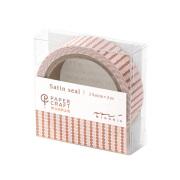 PCM サテンシール ドット柄 ピンク A(82299006)