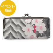 【限定】紙10th「季ごと」 がまぐちポーチ 桜柄(91209460)
