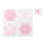 【オンラインストア限定商品】カラー色紙用シール バラ売り 桜柄 (91803238)