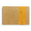 スパイラルリングノート <B6> 窓付封筒 草原ミツバチ柄 (15086006)