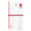 金封213 結婚祝 赤い糸 編み (25213006)
