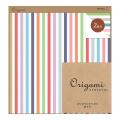 【Origami】オリガミ2色アソート <15角> ストライプ柄