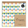 【Origami】オリガミ<15角> 水彩 ダイヤ柄