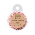 紙ひも 白・赤 (79404006)