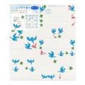 カラー色紙用シール 青い鳥柄 (83814006)