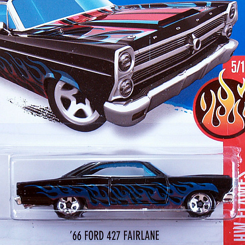 2016 HW Flames / '66 Ford 427 Fairlane / '66 フォード 427 フェアライン