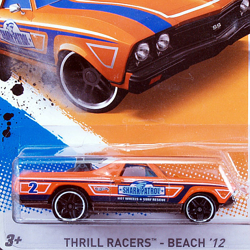 2012 Thrill Racers, Beach / '68 El Camino / '68 エルカミーノ