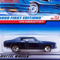 1999 First Editions / 1970 Chevelle SS / 1970 �����٥� SS