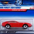 2000 FIRST EDITIONS / FERRARI 365 GTB/4 (RED)  / フェラーリ 365 GTB/4