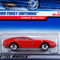 2000 FIRST EDITIONS / FERRARI 365 GTB/4 (RED)  / �ե��顼�� 365 GTB/4