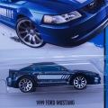 2014 HW CITY / 1999 Ford Mustang (NVY) / 1999 フォード・マスタング