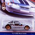 2016 Ford Performance / '92 Ford Mustang / '92 �ե����ɡ��ޥ����� ��Wal-Mart Exclusive��