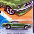 2012 Muscle Mania / '67 Ford Mustang Coupe / '67 �ե����ɡ��ޥ����������� ��Wal-Mart Exclusive��