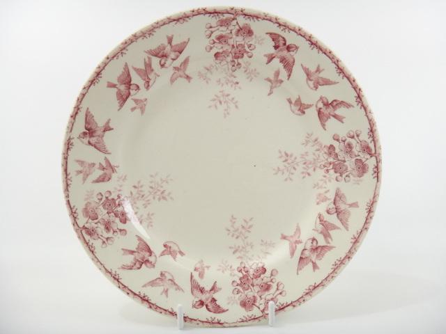 フランス アンティークデザート皿 MONTIGNY CHOISY LE ROI製