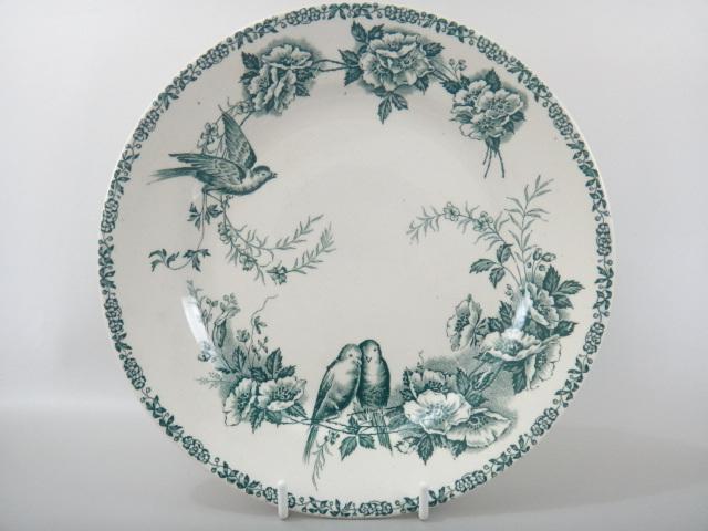 フランス アンティーク皿 MESANGES St.Amand製