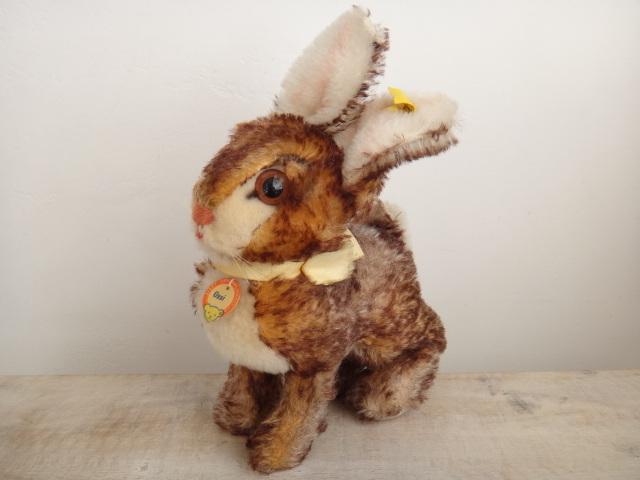 アンティーク シュタイフ ウサギ Steiff Ossi 18cmサイズ