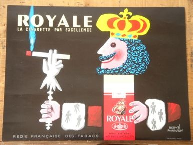 ROYALEビンテージポスター