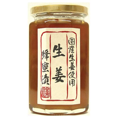 国産果実使用 生姜漬け蜂蜜350g