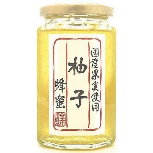 国産果実使用 柚子漬け蜂蜜350g