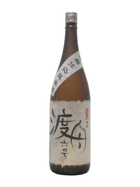 山廃仕込 純米酒 渡船六号1800ml