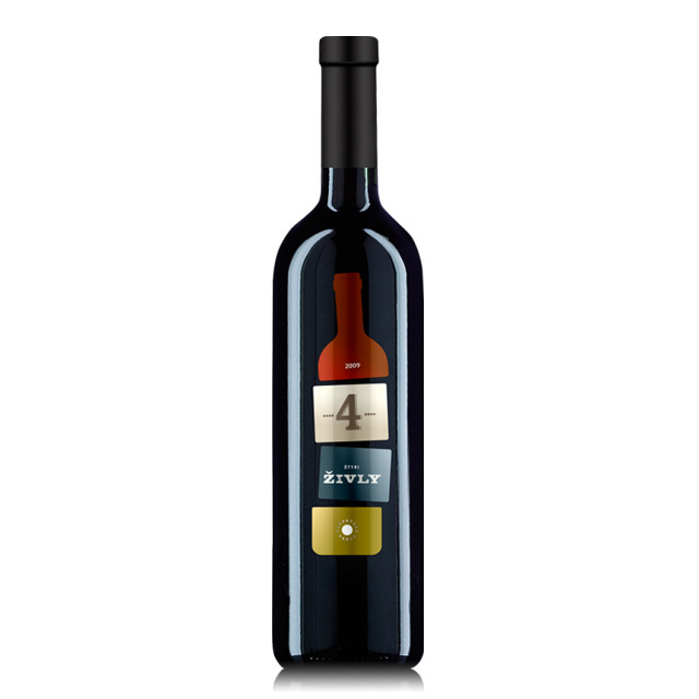 シュティリ・ジヴリ・チェルヴェネ【スロバキアワイン】赤・キレイ系フルボディ