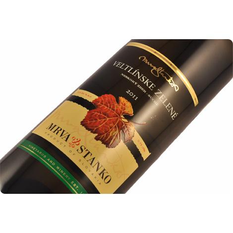 MS ヴェルトリンスケ・ゼレネ2014【スロバキアワイン】白・ピュアでほろ苦い辛口