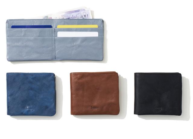 hmny 二つ折り財布