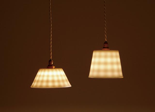 白磁ランプ