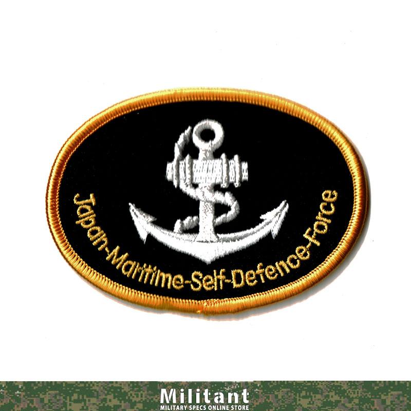 海上自衛隊 碇マークワッペンJMSDF(楕円)