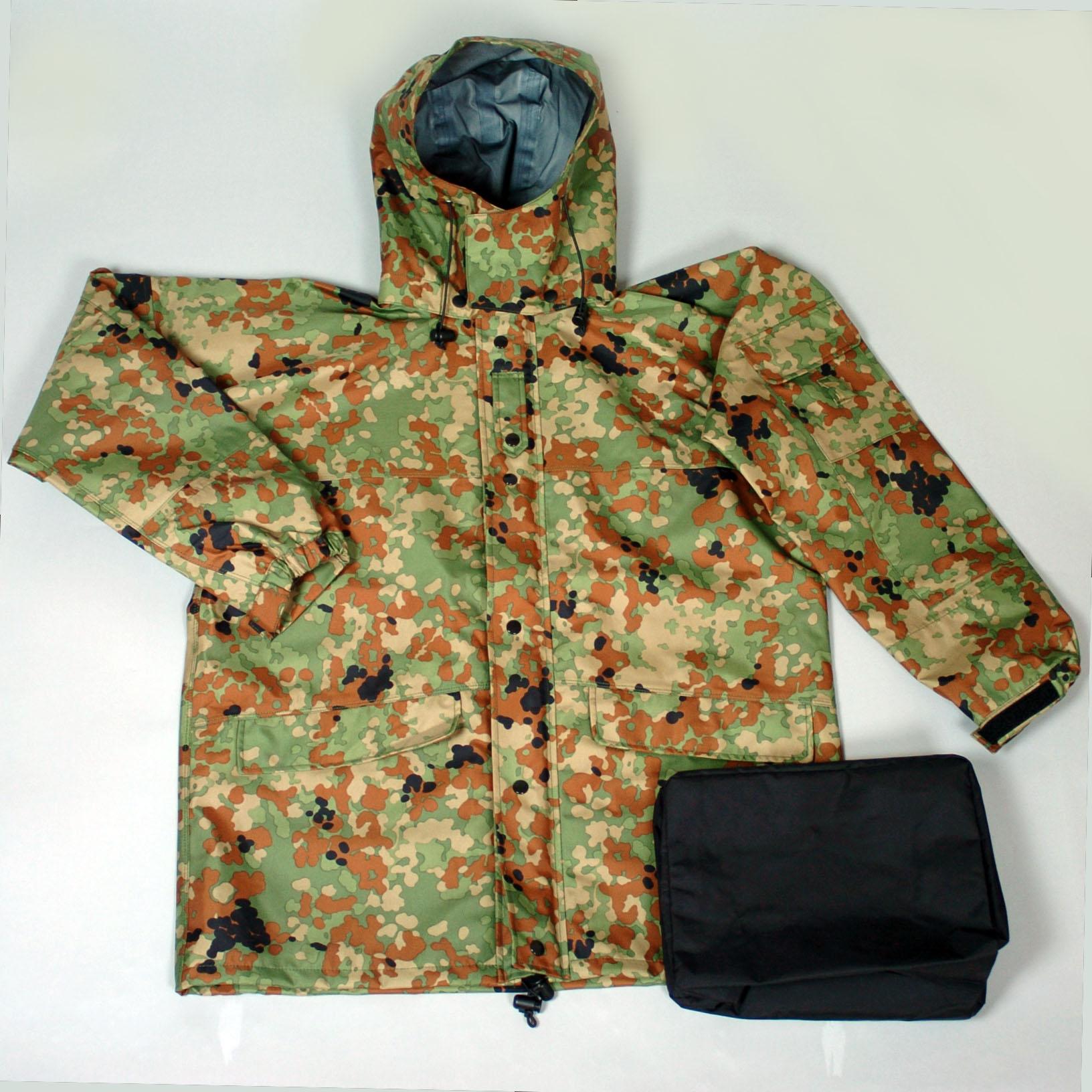 GORETEX 迷彩雨衣
