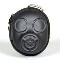ガスマスク型 キー&コインケース ブラック