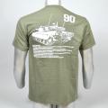 90戦車Tシャツ(90後ろ姿)