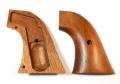 マルシン コルトS.A.A.45ピースメーカー用 木製グリップ [エアガン/エアーガン/ガスガン]