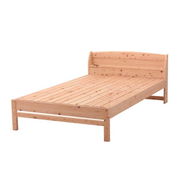 棚コンセント付 | 島根県産高知四万十産ひのきすのこベッド