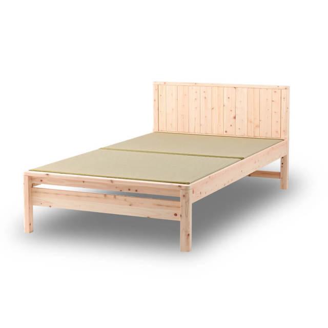 島根県産高知四万十産ひのき畳ベッド