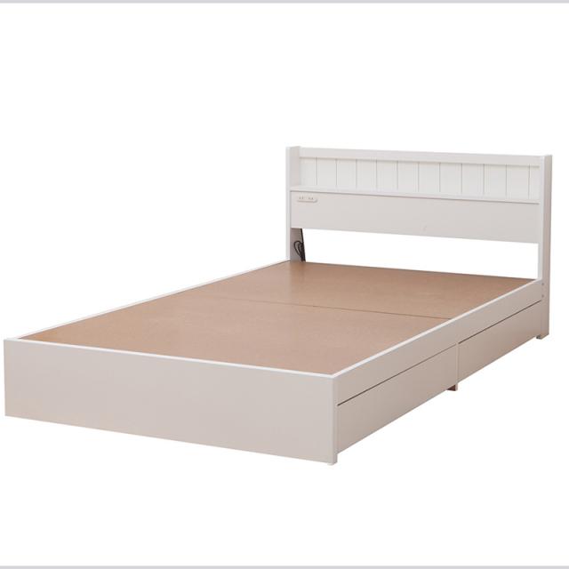日本製フレーム | 多サイズ展開二杯収納ベッド